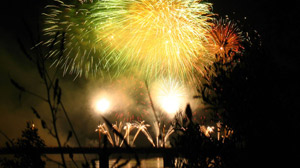 PHOTO Scientists are helping pyrotechnicians to make their colorful green fireworks even greener for the environment