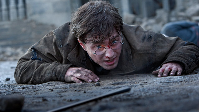 PHOTO: Scene from Harry Potter and the Deathly Hallows - Part 2