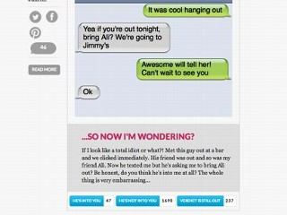 HeTexted: Crowdsourced Analysis of His Text Messages