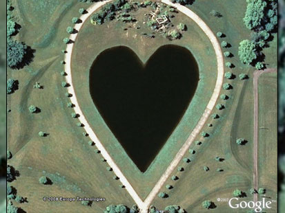loch ness monster on google earth abc news