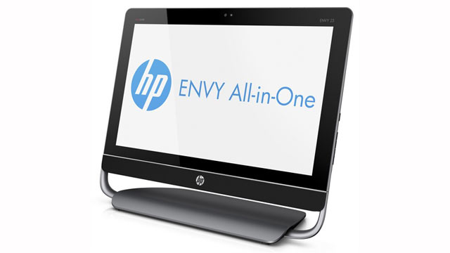 PHOTO: HP's new all-in-one computers is seen here.