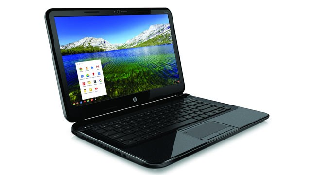 PHOTO: HP's Pavilion 14 Chromebook runs Chrome OS.