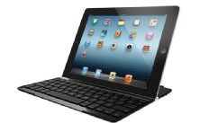 PHOTO: Logitech's ultrathin keyboard cover for the iPad.