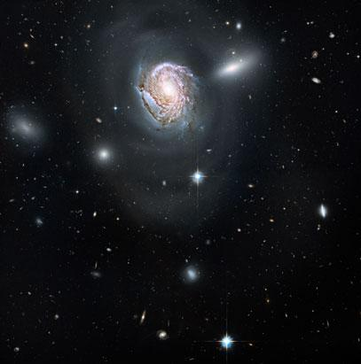 Cosmic Chaos: When Galaxies Collide