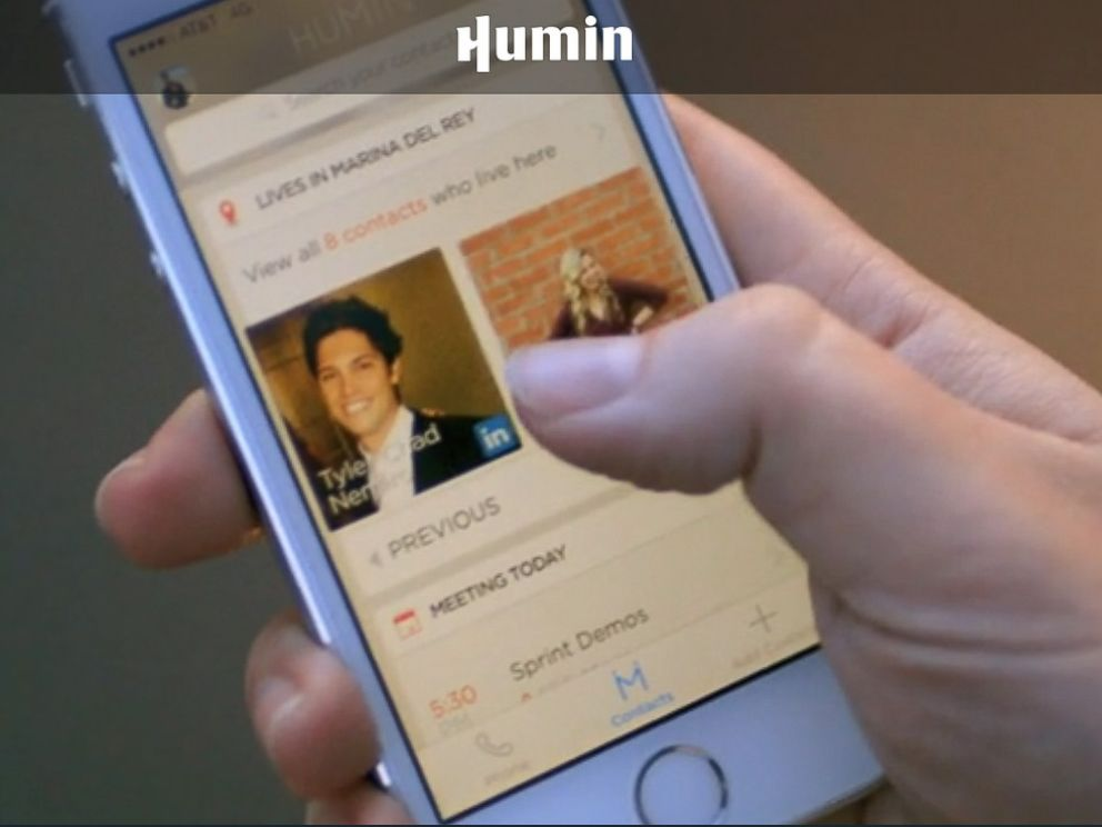 PHOTO: Humin - An address-Book App Built on Connections