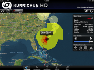 Hurricane Sandy: Apps and Tech Tips