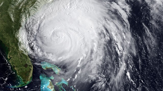PHOTO:&nbsp;Satellite image of Hurricane Irene