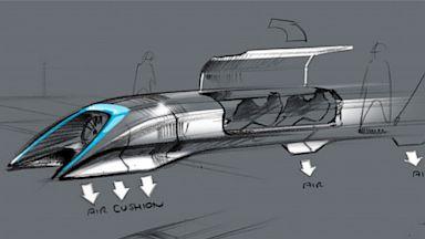 PHOTO: Hyperloop sketch