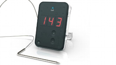 PHOTO: The iGrill is a Bluetooth thermometer; it pairs with an iPhone to tell you the temperature.