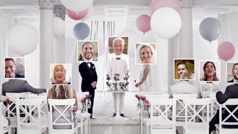 ikea gets into the business of love with virtual weddings abc news