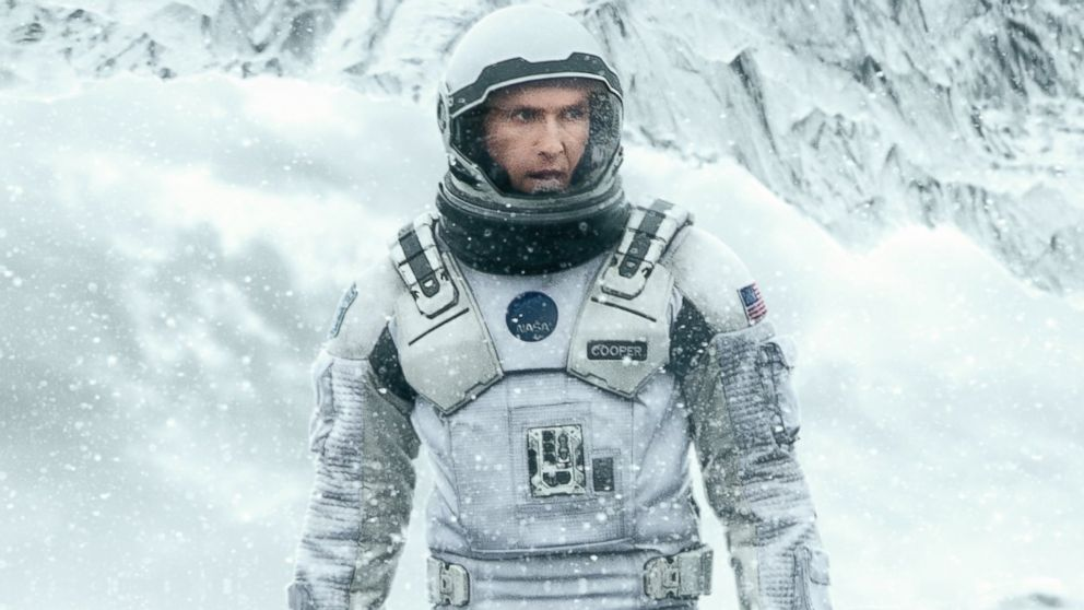 "PHOTO: Matthew McConaughey is pictured in a promotional still for ""Interstellar."""