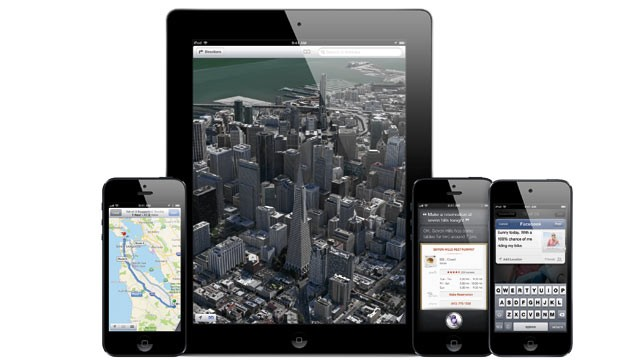 PHOTO: Apples iOS 6 for the iPhone, iPad, and iPod Touch launched on Sept. 19, 2012.