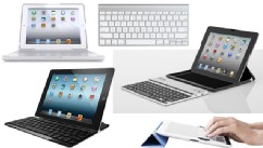PHOTO: iPad keyboards