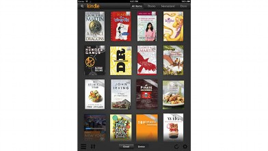 PHOTO: Amazon's Kindle app for the iPad is one of the best places to buy and read books.