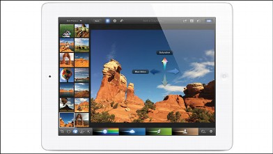PHOTO: Apple's iPhoto on the iPad.