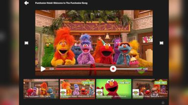 PHOTO: Google's newest app, named YouTube Kids, aims to give very young children a safe and easy video viewing experience.