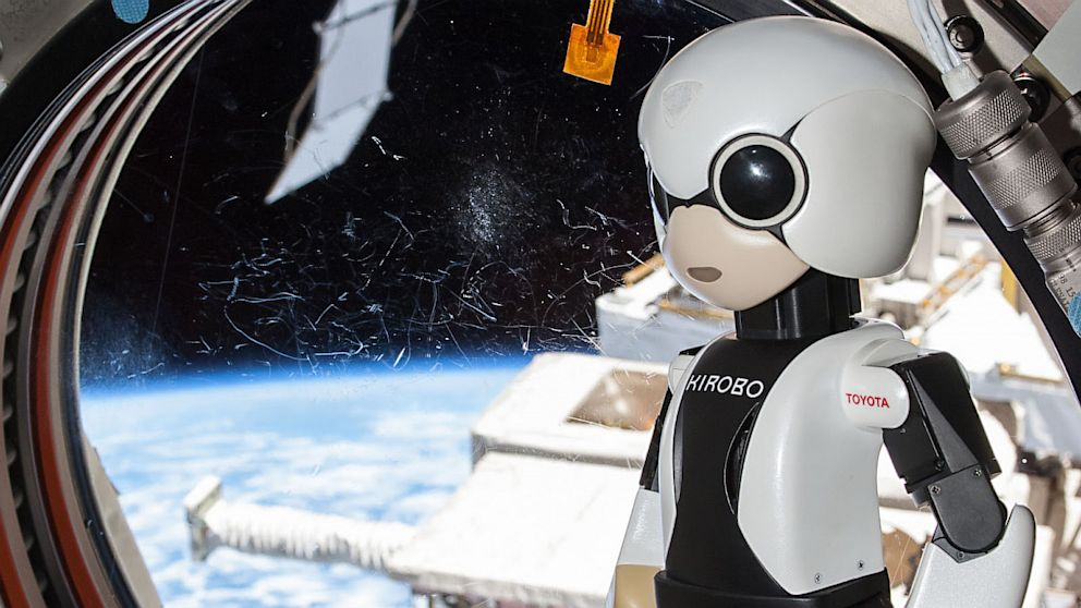 PHOTO: Kirobo robot on space station