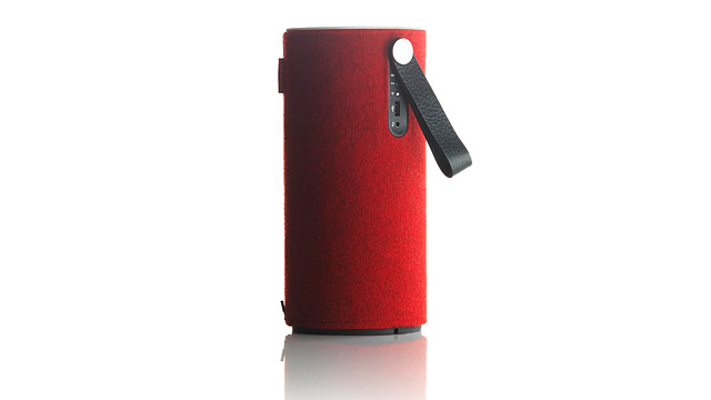 PHOTO: The $300 Libratone Zipp is a mobile WiFi / Airplay speaker.