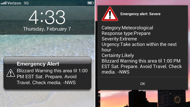 Blizzard Wireless Emergency Alerts Why ly Some People