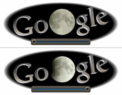 Solar Eclipse? No, Lunar Eclipse 2011, Shown Live on Google Doodle ...