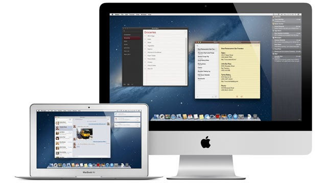 PHOTO: Apple's OS X Mountain Lion includes hundreds of new features, including a new Notification Center, messaging features, and a new Safari browser.