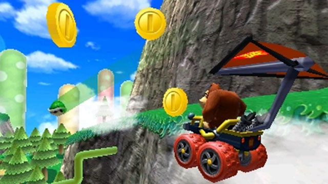 PHOTO: Nintendo introduces Mario Kart 7 for DS.
