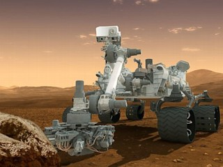 Photos: Mars Rover's New Color Pics
