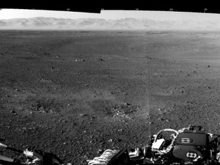 Photos: Mars Rover: First Panorama