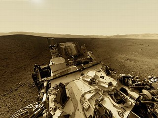 Mars Rover Set For First Drive