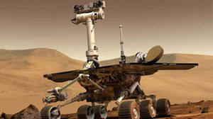 PHOTO:&nbsp;NASA Mars rovers Spirit and Opportunity have been exploring regions on opposite sides of Mars since January 2004.