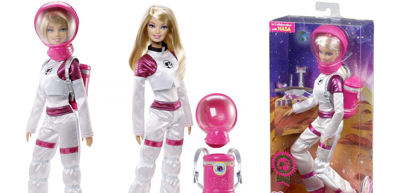 PHOTO: Mars Explorer Barbie