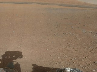 Mars Rover's First Color Panorama
