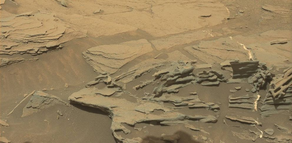 PHOTO: This image was taken by Mastcam onboard NASAs Mars rover Curiosity.