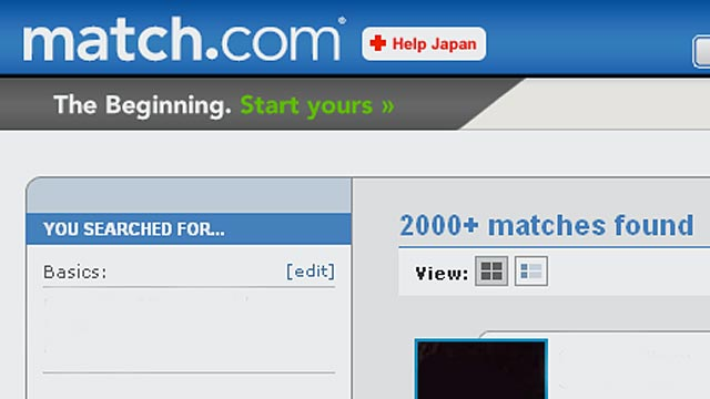 PHOTO: Match.com website