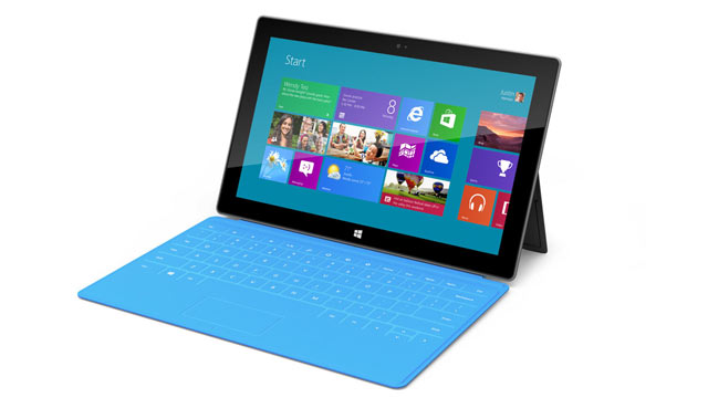 "PHOTO: Microsoft has unveiled a new tablet called, ""Surface."""