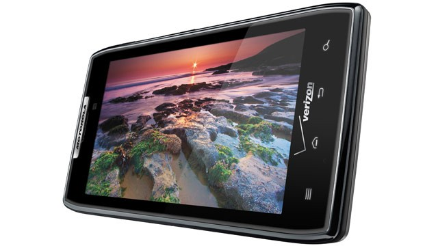 PHOTO: Motorola RAZR introduces the new DROID RAZR which uses the Android operating system.