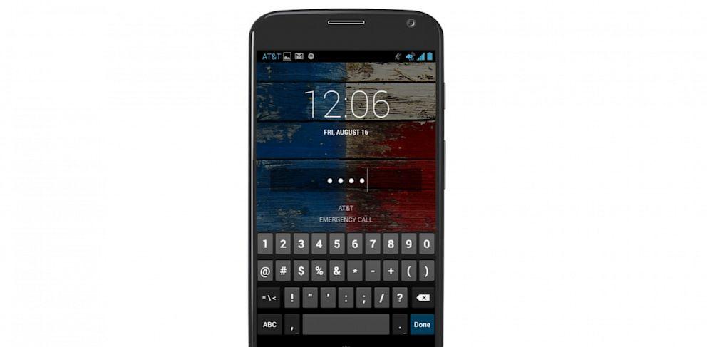 PHOTO: The Moto X smartphone.