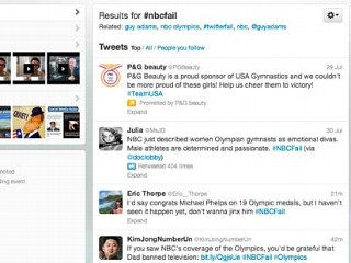 Olympics 2012: Twitter vs. Tradition