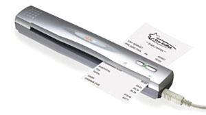Photo: Tech on Deck: Portable Scanners Blaze a Paper Trail: Sleek light devices capture digitize documents, business cards and receipts