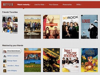 Netflix Adds Facebook Integration