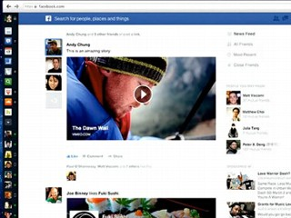 Facebook Scraps Old Feed for Fresher Design