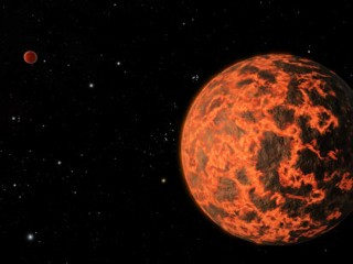 New Planet Circles Distant Star