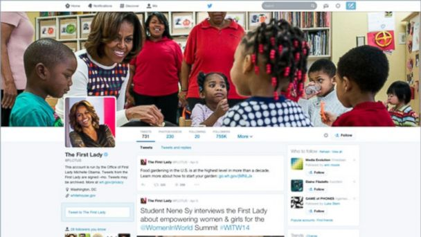 ht new twitter profiles flotus kb 140408 16x9 608 What You Need to Know About Twitters New Look