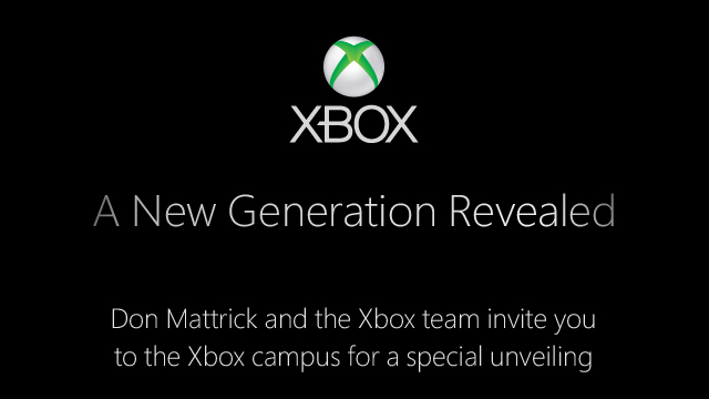 PHOTO: New Xbox invitation