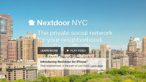 ht nextdoor1 ml 130614 wblog NYC Signs On for Nextdoors Social Network Updates