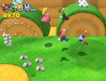 'Super Mario 3D World' for Wii U allows four players to explore a 3D space at once.