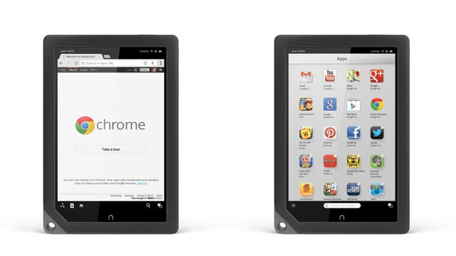 PHOTO: Barnes & Nobles Nook HD+ tablet now has the Google Play store.