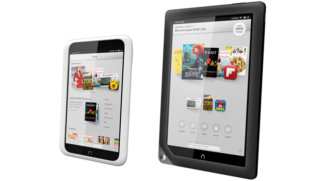 PHOTO: Nook HD and Nook HD+