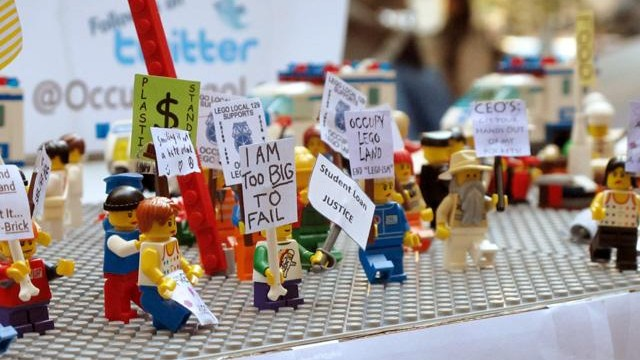 Lego re-creates iconic 2011 Events