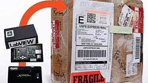 PHOTO: Shipping Packages: Which Company Is Most Careful?